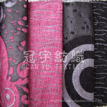 Imitation Linen 100% Polyester Fabric for Decoration