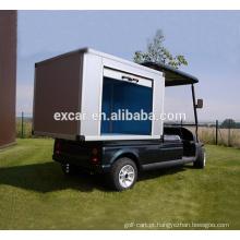 Tipo elétrico do combustível e caixa elétrica do carro de golfe da tensão da bateria 48V e da carga