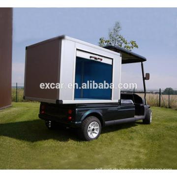 Elektrischer Golfwagen 48V Trojan Batterie mit Fracht Minigolfwagen-Gebrauchsfahrzeugen