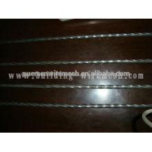 Hochfester Stahl quadratischer Stab