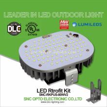 Temperaturkontrollschutz-UL genehmigte LED-Parkplatz-Licht-Nachrüstsatz-80W