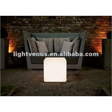 30cm Induction Charging Living Room LED Cube Chair