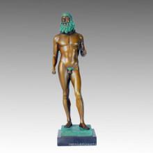 Ню Статуя Греция Риччи Бронзовая скульптура, Мило TPE-367
