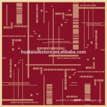 2014 nouveau design 100 foulards en soie pure châle homme