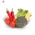 Stainless steel metal furniture fruit basket