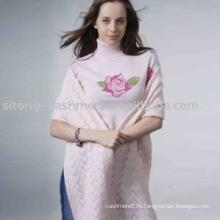 интарсия кашемировый свитер