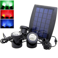 Black Solar Spotlight Kit