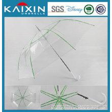 CIQ Fiber Glass Poe Transparent Umbrella