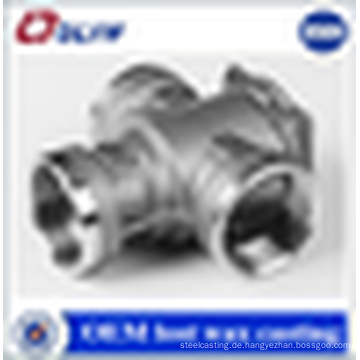 Iso-zertifiziert Kundenspezifisches Feinguss 316 Edelstahl-Gussventil