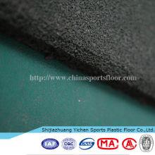 tapis en caoutchouc sûr de plancher coloré / plancher de caoutchouc de courts de basketball d'intérieur pour des enfants