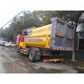 FAW compact garbage truck mounted crane