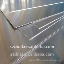 1070 H14 aluminio hoja plana China suministro