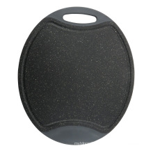 Placa de corte de design de mármore oval