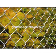 GM 2016 hot sale chaud trempé galvanisé chain link clôture
