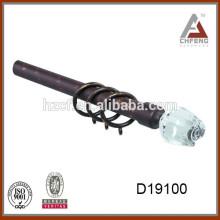 Занавесы для занавесок / пластиковые заборные профили / занавески втулки оптом rustic drapery rod 16mm