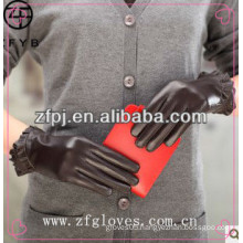 ZF2836 New Style Women Fashion Nappa Leather Gloves