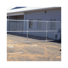 Cheap Cyclone Mesh Fence Galvanized Diamond Wire Mesh Chain Link Fences For Sale