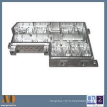 Pièces de usinage de commande numérique par ordinateur d'aluminium de précision