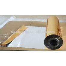 Золотистая и ленточная красочная металлизированная ПЭТ-пленка