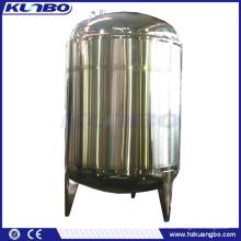 Réservoir de stockage vertical de refroidissement de lait isolé double par double de KUNBO