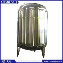 KUNBO Double Jacketed Insulated Vertical Milk Cooling Storage Tank