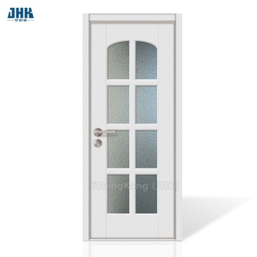JHK Fashion Popular Commercial Glass Wooden Storm Doors