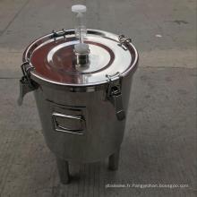 Bouilloire en acier inoxydable de 13 gallons, 26 gallons et 52 gallons
