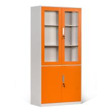 Gabinetes de almacenamiento emplumados con puerta de vidrio