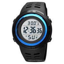 2020 SKMEI 1681 Wholesale Digital Wristwatch Body Thermometer Sport Watch Large Display