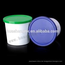 Einweg Plastiknahrungsmittelbehälter 750ml Gefrierschrank Sicher