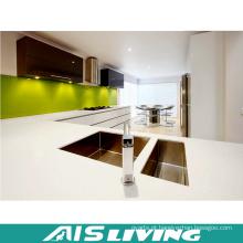 Gabinete de cozinha do armário de preços de fábrica com torneiras (AIS-K193)