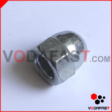 SAE Hexagon Acorn Nuts Zinc Plated