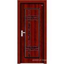Porta de madeira de aço inoxidável (LTG-103)