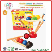 2014 new wooden ball game for kids, popular kids play ball game