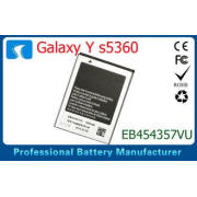 1200mAh  Mobile Phone Battery For Samsung Galaxy Y S5360 53
