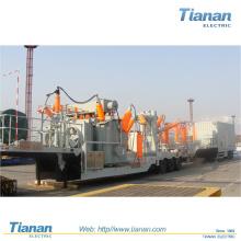 Transmisión de energía de emergencia 132kv Prefabricated Mobile Subestación