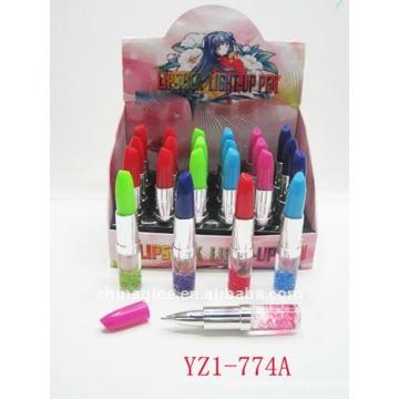 rouge à lèvres s'allument en stylo