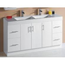 Белая глянцевая тканная тряпочка для ванных комнат (P6011-1500GD)