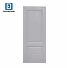 Fangda cor branca moderna porta de aço de 36 polegadas