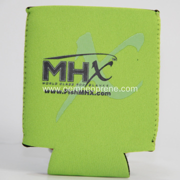 MHX Funning Black and Green beer can cooler