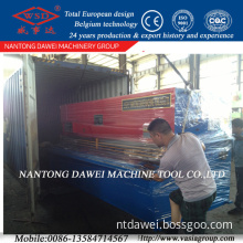 Shearing Machine with Taiwan High Precision Ball Screw and Linear Guide