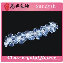 Cristal ajustável nova chegada grande atacado jewerly senhoras alta tendência mais recente estilo multi-cadeia de qualidade pulseira de moda 2014