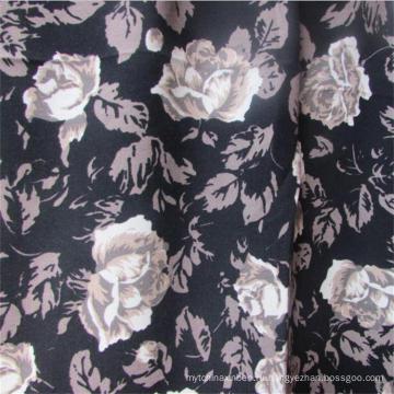 Ткань для одежды из вискозы с принтом простого плетения для женских платьев