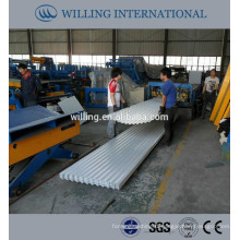 2015 GI corrugated sheets with high quality