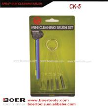 Spray Gun Cleaning Brush Kit