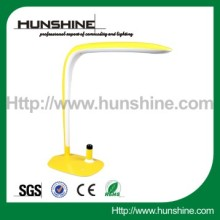 yellow simple eye-protection ultra bright led desk lamps