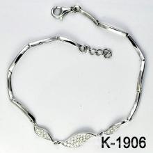 Mode Silber Micro Pave CZ Einstellung Schmuck (K-1906. JPG)