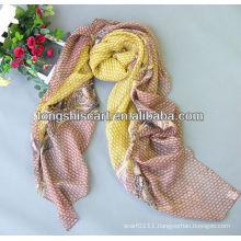 2013 new crinkle chiffon scarf