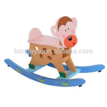 Traditional Toys Kids Wooden Monkey Rocking Horse