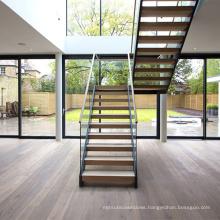 aluminum stair stringers/modern straight staircase